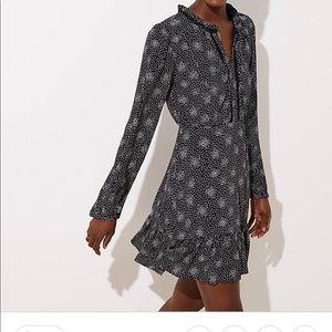 Loft Scattered Dot dress NWT sz 6